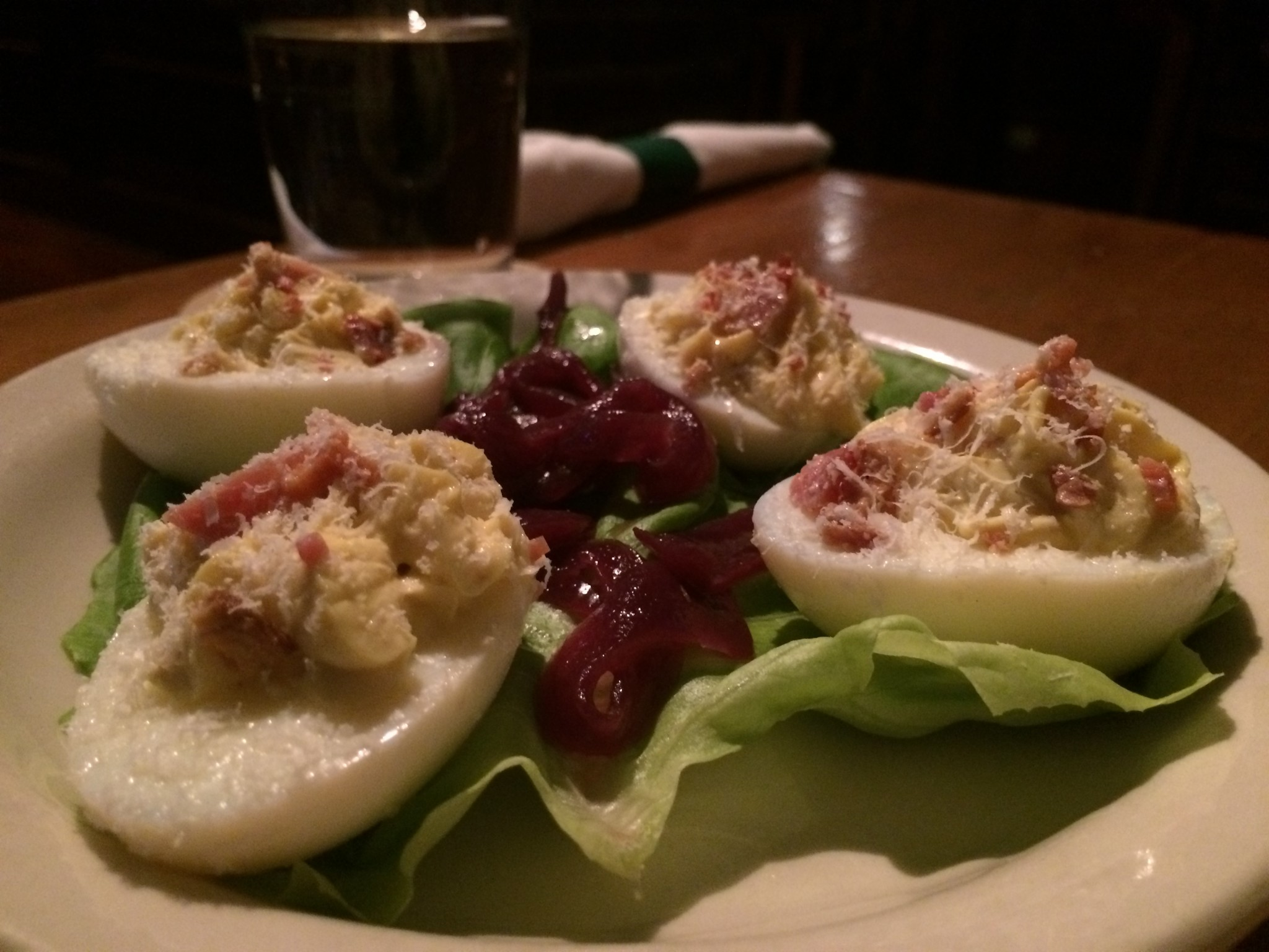 Barley Republic - Parmesan Deviled Eggs