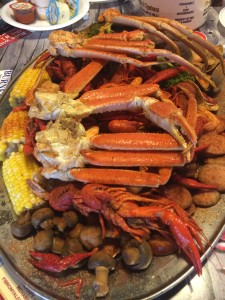 Outback Crab Shack - Steamer Platter