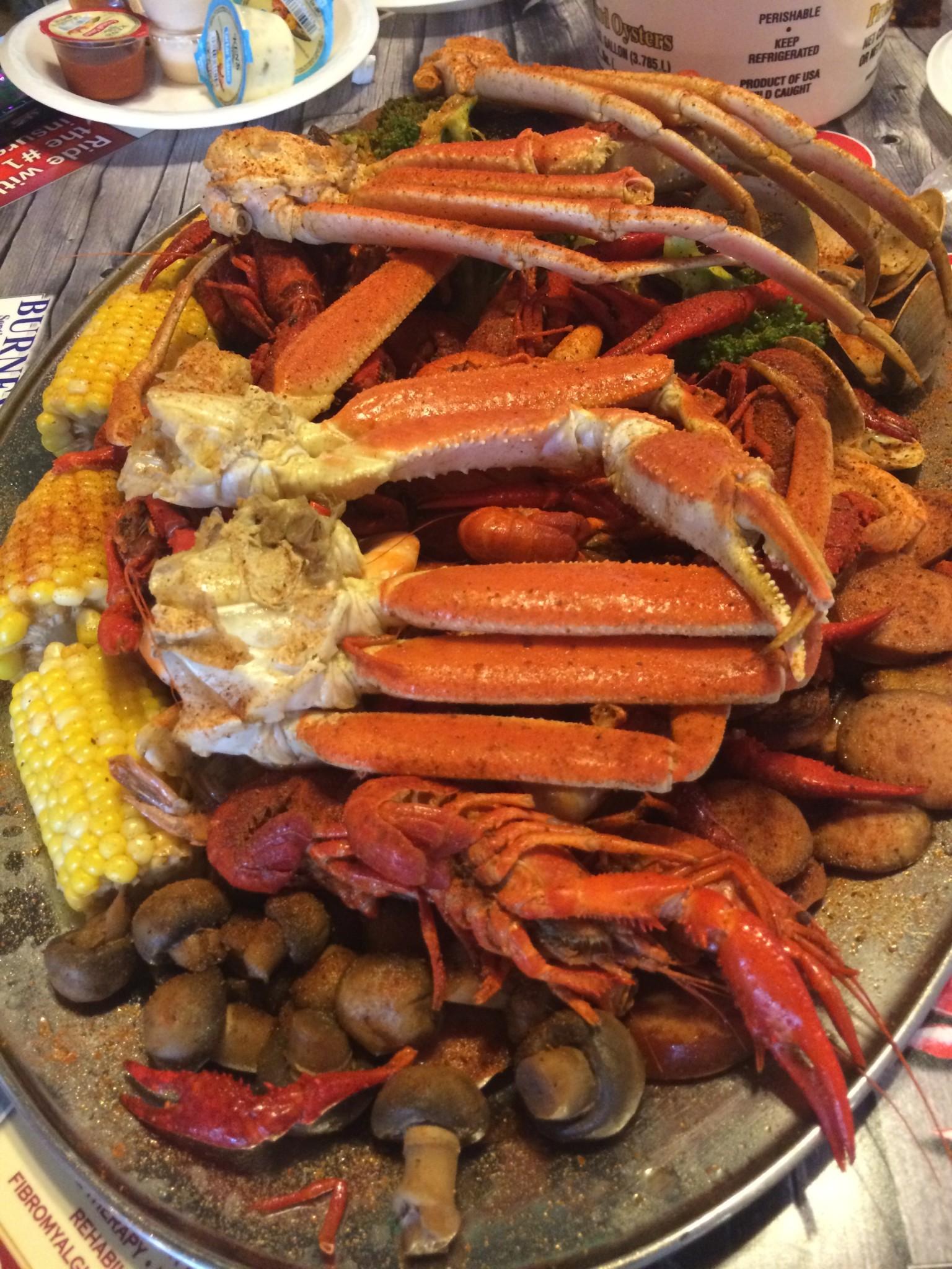 Outback Crab Shack - Steamer Platter