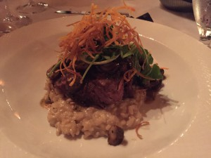 Collage - Beef Tenderloin with Risotto