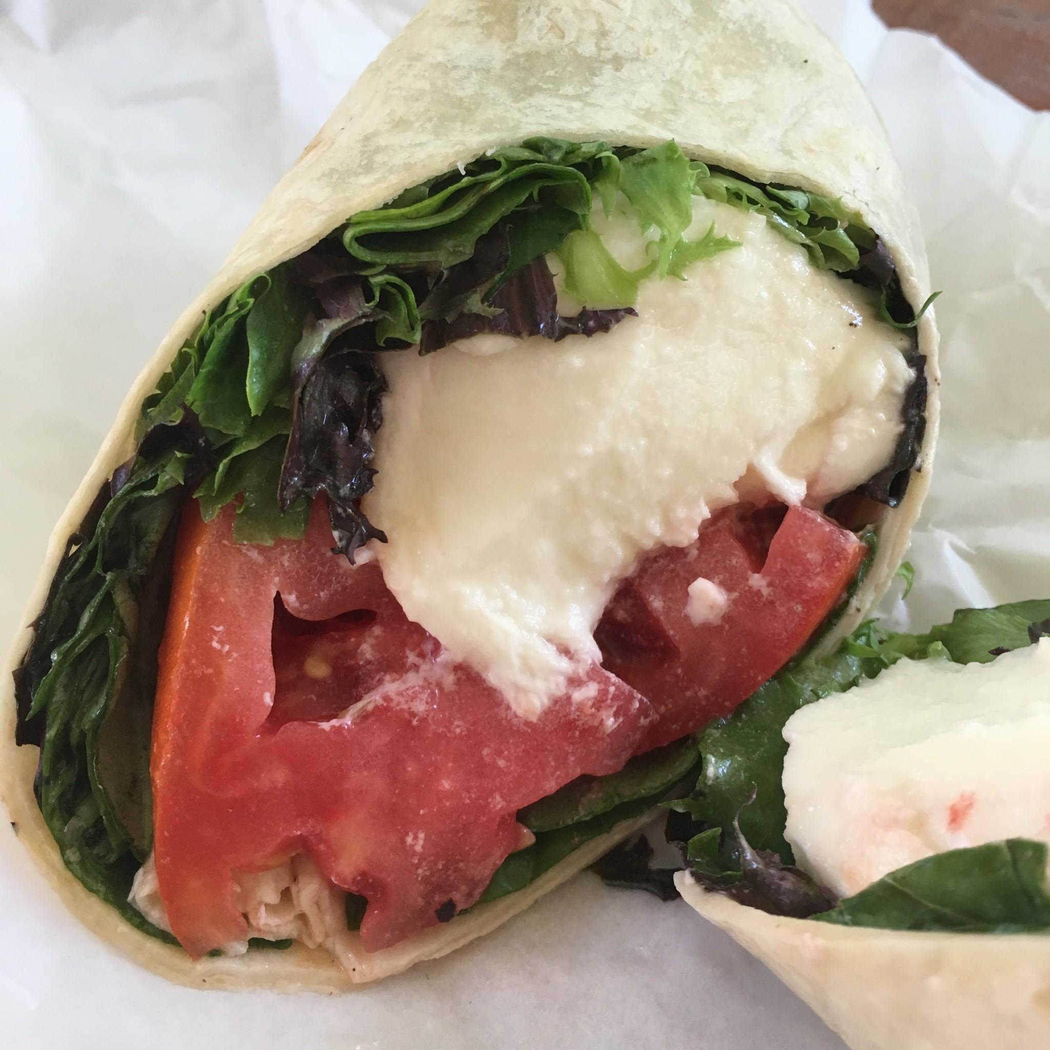 Drake's Deli - Lettuce, Tomato,and Mozzarella